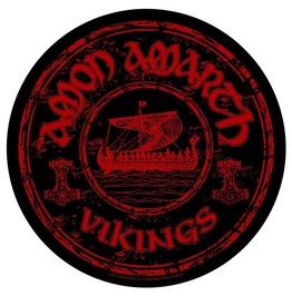 Amon Amarth Back Patch Official Vikings 29cm X 29cm