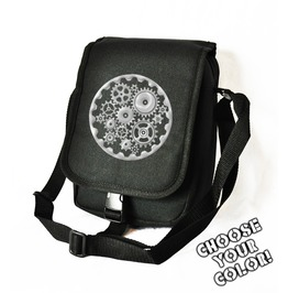Cryoflesh Gear Cog Steampunk Cyber Gothic Festival Bag