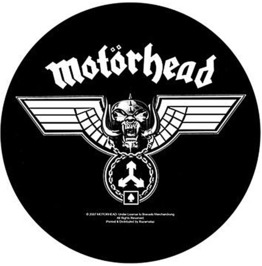 Motorhead Back Patch Official Hammered 29cm X 29cm