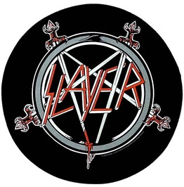 Slayer Back Patch Official Pentagram 29cm X 29cm