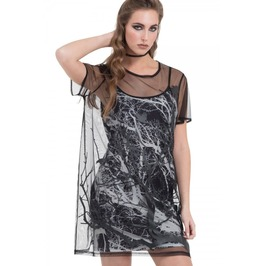 Jawbreaker Clothing Branch & Crow Double Layered Dress