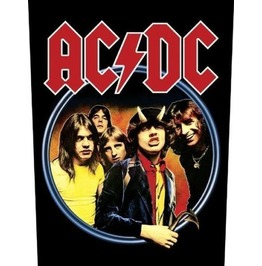 Ac/Dc Back Patch Official Highway To Hell 28.5 Cm X 35 Cm