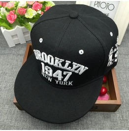 Baseball Cap 1947 Couple Hip Hop Dancer Hat,Rocking Party Accessories