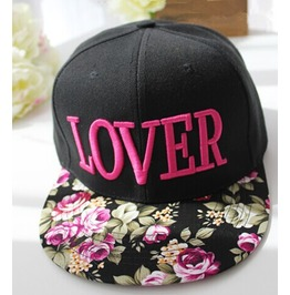 Summer Lover Embroidery Fashion Street Cap,Hip Hop Hat