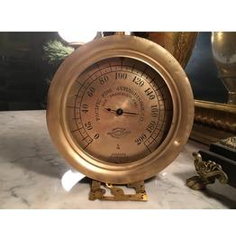 Igearz Steampunk Steam Pressure Gauge Clock Green San Francisco