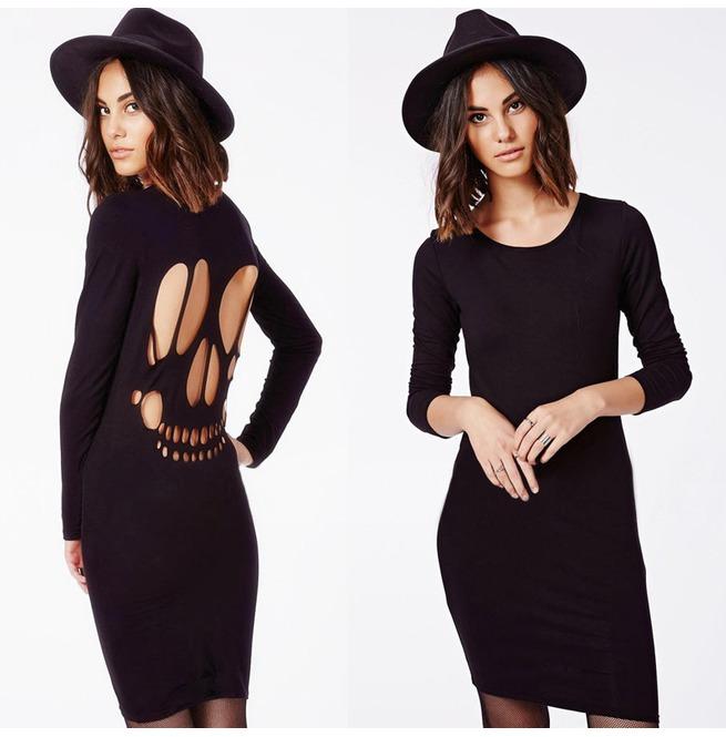 rebelsmarket_cut_back_skull_pattern_short_dress_dresses_3.jpg