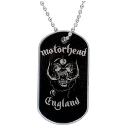 Motorhead Dog Tag Chain Necklace Official Collectable England