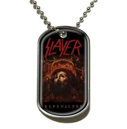 Slayer Dog Tag Chain Necklace Official Collectable