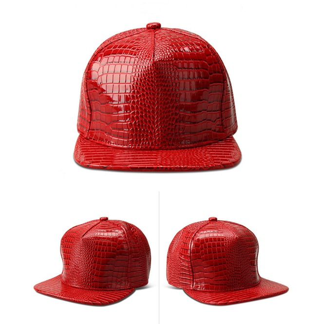 rebelsmarket_hen_party_snake_striped_baseball_cap_casual_hip_hop_street_leather_hat_hats_and_caps_2.jpg