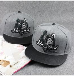 Wolf Baseball Cap,Men Hip Hop Trucker Caps