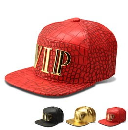 Hip Hop Vip Crocodile Pattern Hat,Music Party Fashion Street Trucker Caps