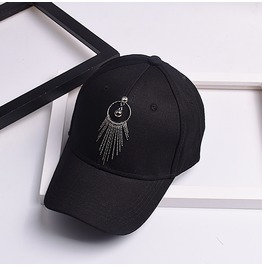 Summer Punk Tassel Sun Hat,Casual Unisex Baseball Caps
