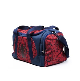 Spiderman Duffle Gym Weekend Bag Official The Ultimate Logo Marvel
