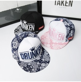 Summer Drunken Crown Sun Hat,Hip Hop Baseball Unisex Trucker Caps