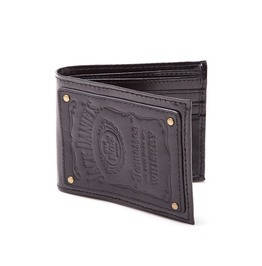 Jack Daniels Wallet Official Authentic Embossed Leather
