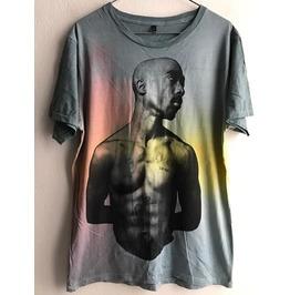 Tupac Fashion Tie Dye Unisex T Shirt L
