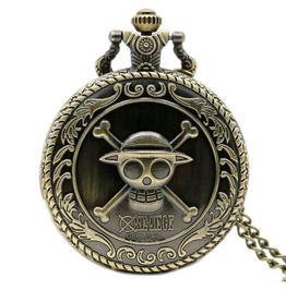 Steampunk One Piece Display Quartz Pocket Watch