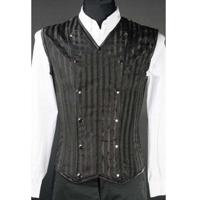 rebelsmarket_mens_black_striped_victorian_gothic_vest_lace_up_corset_back_cheap_shipping_vests_3.jpg
