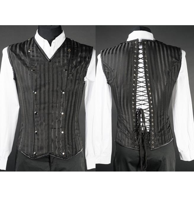 rebelsmarket_mens_black_striped_victorian_gothic_vest_lace_up_corset_back_cheap_shipping_vests_2.jpg