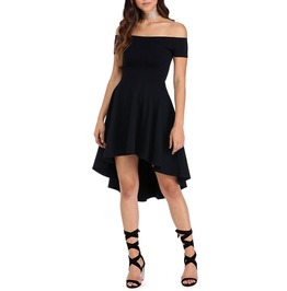 Summer Casual Short Sleeve Evening Party Cocktail Short Mini Dress