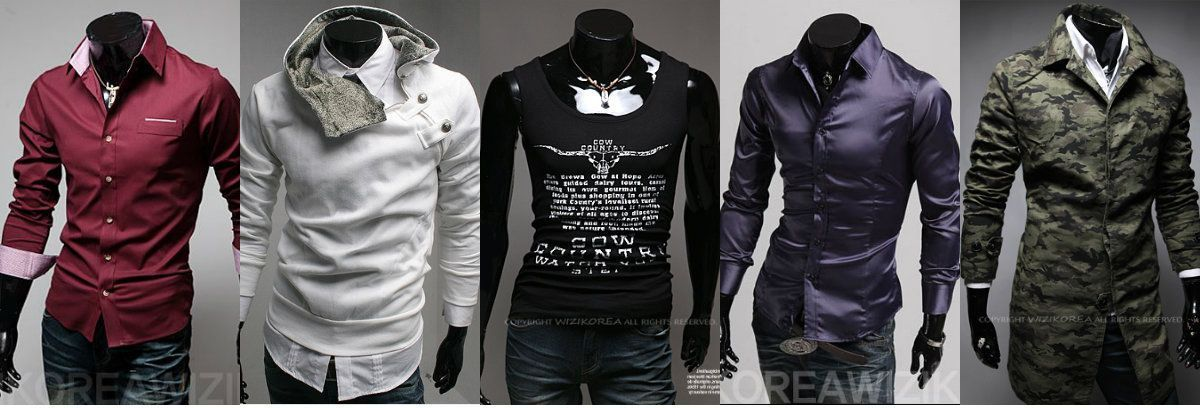 Featured store wizikorea trendy mens fashion