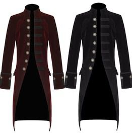 Pentagramme military coat coats