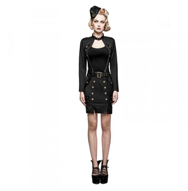 rebelsmarket_ladies_black_gothic_military_officer_belted_mini_skirt_6_cheap_shipping_skirts_7.jpg