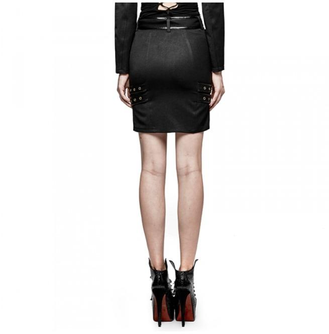 rebelsmarket_ladies_black_gothic_military_officer_belted_mini_skirt_6_cheap_shipping_skirts_6.jpg