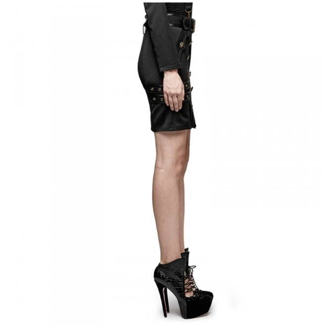 rebelsmarket_ladies_black_gothic_military_officer_belted_mini_skirt_6_cheap_shipping_skirts_5.jpg
