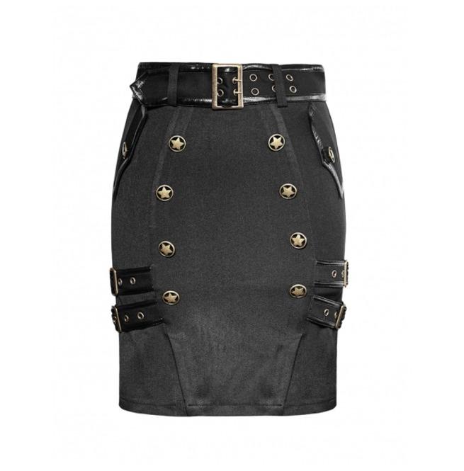 rebelsmarket_ladies_black_gothic_military_officer_belted_mini_skirt_6_cheap_shipping_skirts_4.jpg