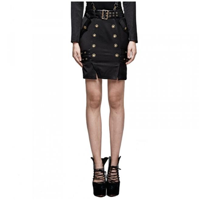 rebelsmarket_ladies_black_gothic_military_officer_belted_mini_skirt_6_cheap_shipping_skirts_3.jpg