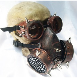 Goggles Gas Mask Set Unisex Steampunk Accessories