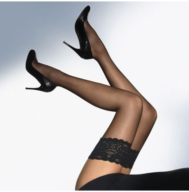 1db3eb0abd5 Women s Lace Thigh Erotic Black Stockings Sexy Lingerie