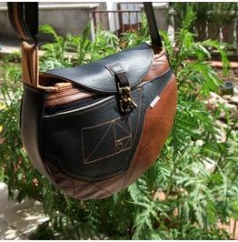 Handmade Shoulder Bag, Vegan Bag, Leather Shoulder Bag, Personalized Bag