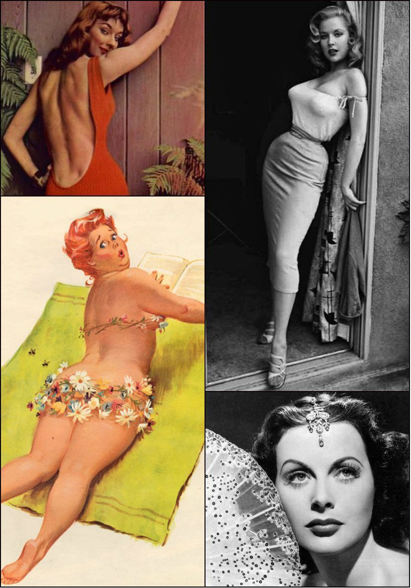4 fascinating and forgotten pin up girls
