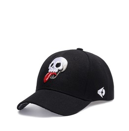 Unisex Skull Head Summer Beach Baseball Canvas Cap