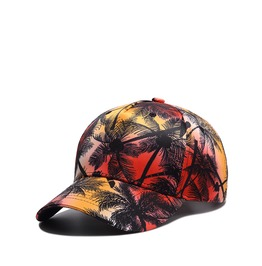 Unisex Tropical Islands 3 D Printed Baseball Cap Peaked Cap