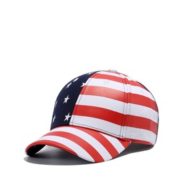 Unisex Punk Rock American Flag Stars And Stripes Baseball Hip Hop Cap