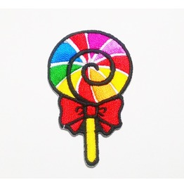 Cute Candy Iron On Patch For Kids.
