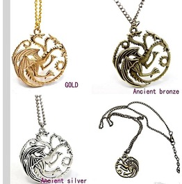 Game Of Thrones House Daenerys Targaryen Khaleesi Sigil Dragon Pendants
