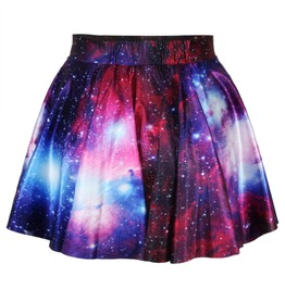 Galaxy Mini Skirt 3 D
