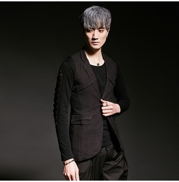 New Mens Slim Fit Formal Casual Dress Vest