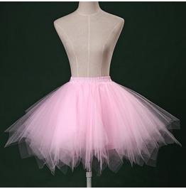 Cute Tutu Pastel Goth Light Pink Hot Pink Light Blue Skirt