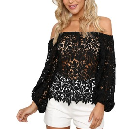Sexy Off The Shoulder Long Sleeve Party Top For Women