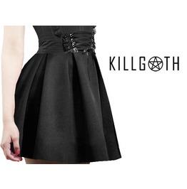 Gothic Skater Skirt, Gothic Skirt, Black Skirt, Skater Skirt, Nu Goth
