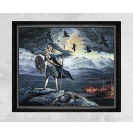 Geirskögul Valkyrie / Viking Print