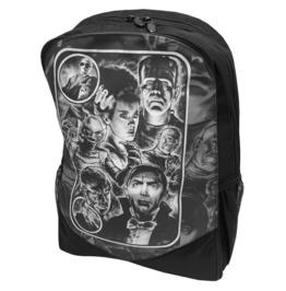 Monster Mash Up Backpack Rucksack Bag Laptop Tablet Holder