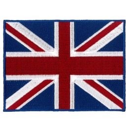 Union Jack Patch 12cm X 9cm