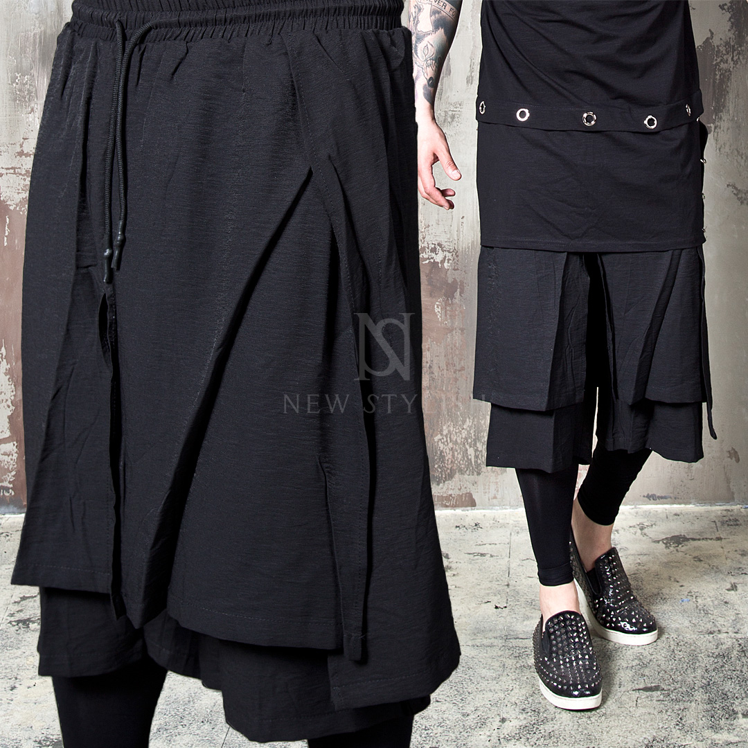 rebelsmarket_wrap_double_layered_black_drawcord_shorts_72_joggers_7.jpg