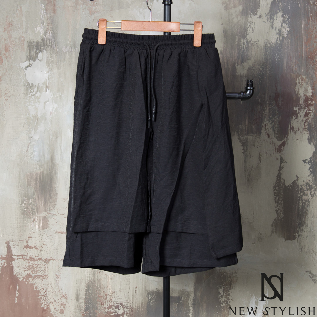 rebelsmarket_wrap_double_layered_black_drawcord_shorts_72_joggers_3.jpg